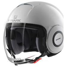 Helmet jet moto scooter Shark Micro white size S casque helm helme capacete