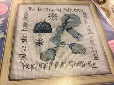 'North Wind blows' pattern cross stitch chart only / 1266