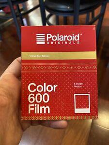 Película instantánea Polaroid Originales 600 Color Rojo Festivo edición de la película