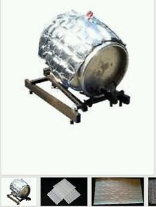 1 x ICE SHEET home brew equipment kit cooling barrel