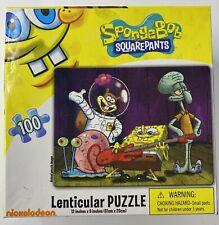2010 Spongebob Squarepants 100 Piece Lenticular Puzzle, New in Sealed Box