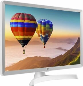 "Smart TV Monitor LG 28TN515SWZ 28"" HD Ready LED WiFi Bianco DVB-T2/C/S2 Netflix"