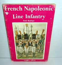 ALMARK BOOK French Napoleonic Line Infantry by Emir Bukhari op 1973 1st Edition