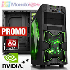 PC Computer GAMING AMD FM2+ A8-7650K 3,70 Ghz Quad Core - Ram 16 GB - HD 2 TB