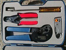 Tv Antenna crimp tool kit Professional  installation  DIY or Trade