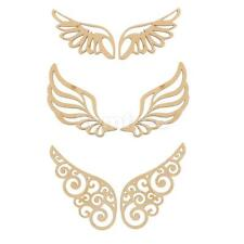 Wings Unfinished Wood Shape Craft Supplies Laser Cut for Scrapbooking Crafts