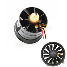 1 set Change Sun 70mm Ducted Fan 12 Blades with EDF 2839 motor kv2600 all set