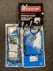 Mini Cooper S JCW R53 Reinz Engine Gasket WOSSNER forged Piston Rebuild Kit