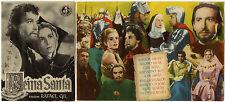 Programme Espagnol REINA SANTA Rafael Gil ANTONIO VILAR Fernando Rey 1947