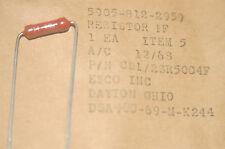 HUYSER CD1/2SR5004F / 5905-812-2959 Axial Mil Spec Resistor New Quantity-1