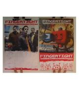 Fingertight Poster  In The Name Of Progress  Two Sided Finger Tight