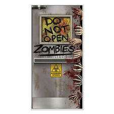 5ft Halloween Horror Party Zombie Lab Door Banner Cover Decoration