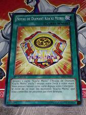Carte YU GI OH NOYAU DE DIAMANT KOA'KI MEIRU PRIO-FR065 x 3