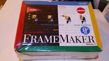 FrameMaker Release 5 for Macintosh, UNIX & Windows Systems NEW SHRINK-WRAP #3351