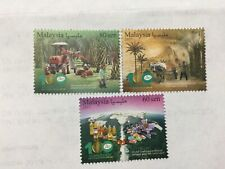 2017 Malaysia Malaya Palm Oil Industry Complete Set MNH. Issue on 18/5/17