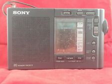 Sony ICF SW 40 Shortwave Radio AM FM MW SW broken antenna used condition