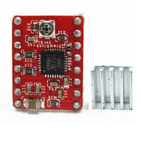 5Pcs 3D Printer A4988 Stepstick Stepper Motor Driver Module 3M Tape Heatsink