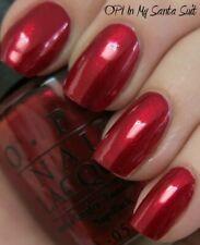 OPI Mariah IN MY SANTA SUIT Deep Red Shimmer Nail Polish Lacquer E09 New RARE!!!