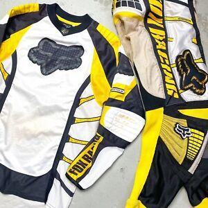 Vintage 2003 Fox Racing 360 Jersey & Pants Gear Set Medium 32 - carmichael