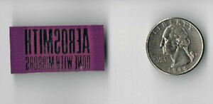 AEROSMITH Done With Mirrors LP Album PROMO PIN Button Badge