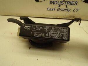 Fuse Box Engine VIN D 4th Digit VQ35DE Fits 02-03 MAXIMA 168305