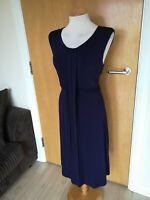 Ladies Dress Size 18 M&S AUTOGRAPH Purple Stretch Party Evening Wedding