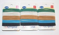 Goody, Ouchless Hair Elastics Hair Bands, 3 Packs, 17 Each, 51 Total