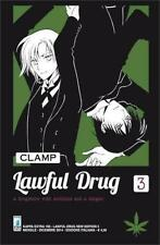 LAWFUL DRUG 3 NEW EDITION - CLAMP - MANGA STAR COMICS - NUOVO