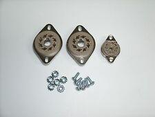 Belton tube socket set for 5F2 Tweed Princeton, Bottom preamp, 3pcs w/hardware