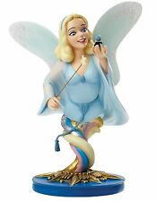 Disney Grand Jester Blue Fairy and Jiminy Cricket Figurine Ornament 21cm 4046193
