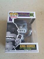 The Simpsons - King Homer POP VINYL #822