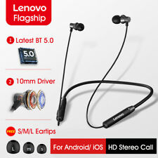 Original Lenovo HE05 BT 5.0 Deportes Auriculares Hi-Fi Estéreo Auricular Inalámbrico 8 horas