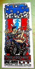 Kid Rock 2002 Philadelphia Concert Screen Print Handbill Jeral Tidwell Jeff Wood