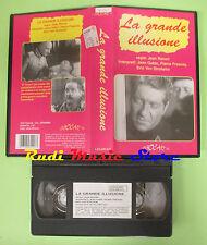 VHS film LA GRANDE ILLUSIONE Jean Gabin Pierre Fresnay LEGOCART (F45) no dvd