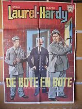 A3642 De bote en bote (Los presidiarios) Stan Laurel,  Oliver Hardy,  Enrique Ac