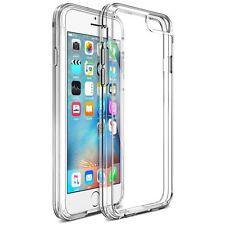 iPhone 6 / 6S Case Trainium [Clear Cushion] Premium Clear Case Hard Back Panel