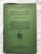 Sigmund Freud Civilization & Its Discontents HB w DJ Hogarth Press