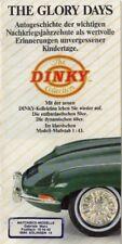 """Matchbox """"Dinky"""" Katalog 1989 deutsch"""