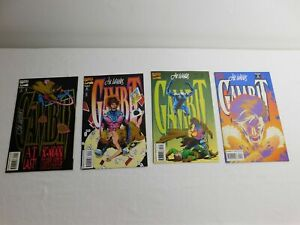 GAMBIT #1-4 All Signed by LEE WEEKS (X4) X-Men Classic Hero