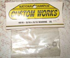 """Vintage RC 3/16 x 5/16"""" Ball Bearings (2) by Custom Works 4010"""