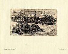 Walter Miehe 2.g. - r. - r. captamos por el Narew guerra pintor * era artist * 1.wk
