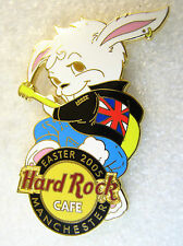 MANCHESTER,Hard Rock Cafe Pin,Easter Bunny,NICE,VHTF