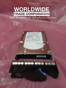 IBM 10N7204 3647 146.8GB 15K RPM SAS Disk Drive w/ Bracket pSeries Free Warranty