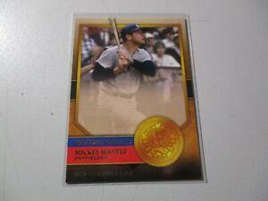 2012 Topps Golden Greats Mickey Mantle #GG-35 HOF NY Yankees Baseball
