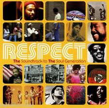 RESPECT ( NEW SEALED 2 x CD ) THE SOUNDTRACK TO THE SOUL GENERATION