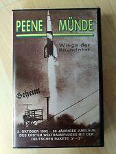 Peenemünde - 50th Anniversary - World War 2- V1 - V2- very rare VHS