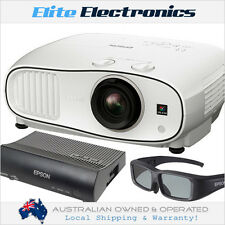 EPSON EH-TW6700W + WIRELESS HDMI & 1x 3D GLASSES 3LCD FULL HD 1080P 3D PROJECTOR