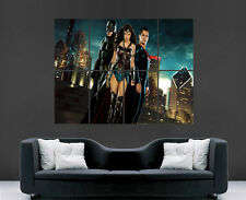 BATMAN VS SUPERMAN WONDER WOMEN POSTER MOVIE TV FILM IMAGE GIANT PRINT WALL ART