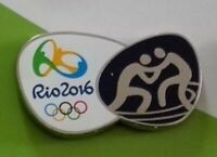 OLYMPICS PIN VINTAGE 2016 RIO WRESTLING 2020 TOKYO JAPAN OLYMPIC GAMES CANCELLED