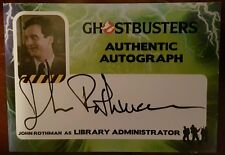2016 CRYPTOZOIC GHOSTBUSTERS AUTHENTIC AUTO JOHN ROTHMAN AS LIBRARY ADMIN